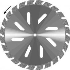 Гипс косая прорезь (d.30/45 мм.)