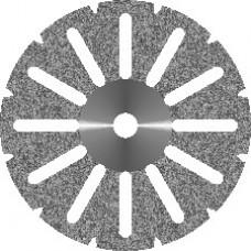 Диск алмазный зуботехнический Акрил 12 прорезей