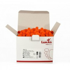 Колпачки LUKAS №12 (Ø10, 80 грит) Упаковка 50 штук.